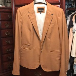 J. Crew 100% Wool camel blazer. 14T.